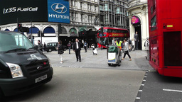 Piccadily Circus London 19 Stock Video Footage