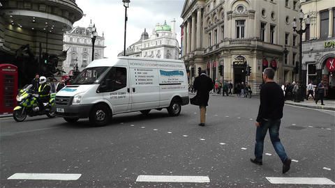 Piccadily Circus London 23 Stock Video Footage