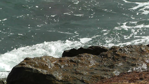 Rocky Seaside 2 Stock Video Footage