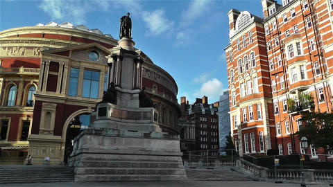Royal Albert Hall London 2 handheld Stock Video Footage