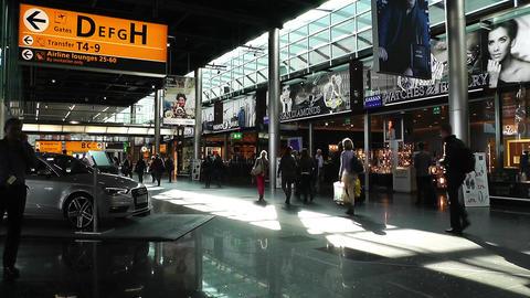 Schipol Airport Amsterdam 1 Footage