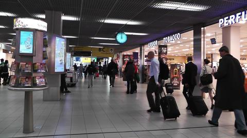 Schipol Airport Amsterdam 3 Stock Video Footage