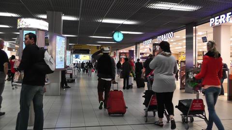 Schipol Airport Amsterdam 3 Footage