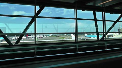 Schipol Airport Amsterdam 15 Footage