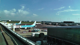 Schipol Airport Amsterdam 21 Stock Video Footage