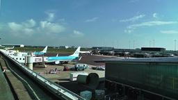Schipol Airport Amsterdam 21 Stock Video Footage