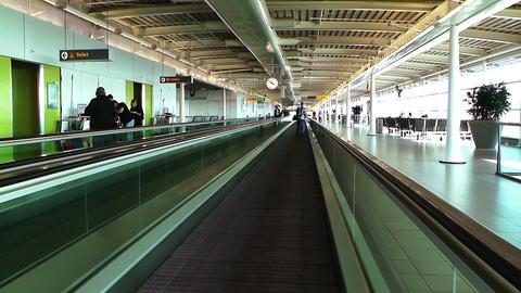 Schipol Airport Amsterdam 23 Stock Video Footage