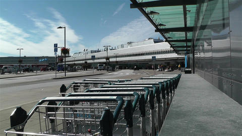 Stockholm Arlanda International Airport 2 Stock Video Footage