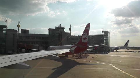 Stockholm Arlanda International Airport 6 handheld Stock Video Footage