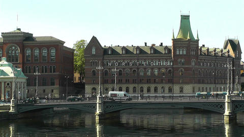 Stockholm Downtown 17 Footage