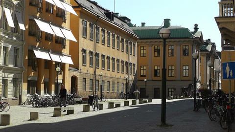 Stockholm Downtown 23 Stock Video Footage