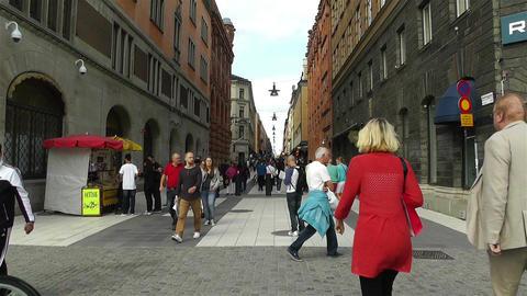 Stockholm Drottniggatan 1 Footage