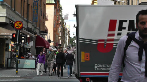 Stockholm Drottniggatan 9 Footage
