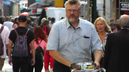 Stockholm Drottniggatan 13 Stock Video Footage