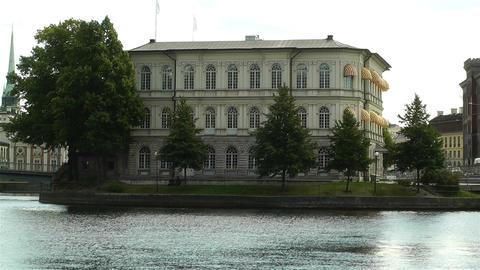 Stockholm International IDEA Institute Stock Video Footage