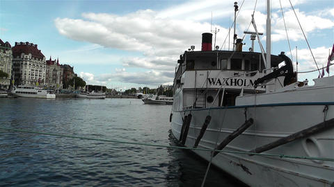 Stockholm Nybrokajen 2 Footage