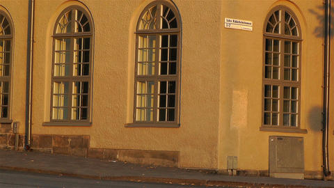 Stockholm Riddarholmen 11 sunset Stock Video Footage