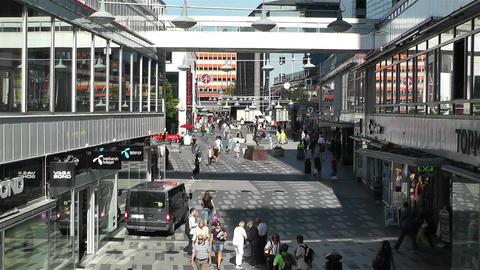 Stockholm Sergelgatan 1 Footage