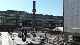 Stockholm Sergel Sqaure 2 Stock Video Footage