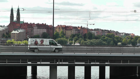 Stockholm Sweden 2013 3 train Stock Video Footage