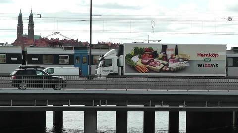 Stockholm Sweden 2013 3 train Footage