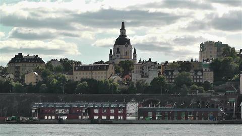 Stockholm Sweden Katarina Church 1 Footage