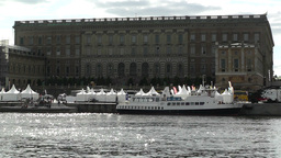 Stockholm Sweden Royal Palace 1 Stock Video Footage