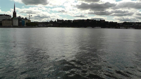 Stockholm view from Kungsholmen 1 Footage
