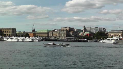 Stockholm view from Skeppsholmem 4 Footage
