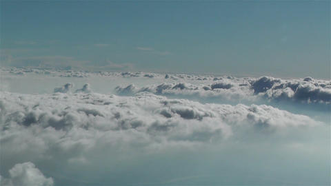 Stratocumulus From Above 1 stock footage