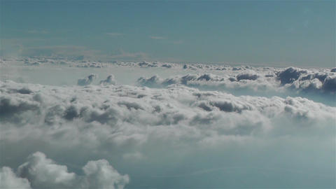 Stratocumulus from Above 1 Stock Video Footage