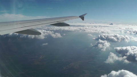 Stratocumulus from Above 3 pov Stock Video Footage