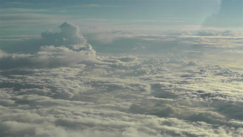 Stratocumulus from Above 5 Stock Video Footage