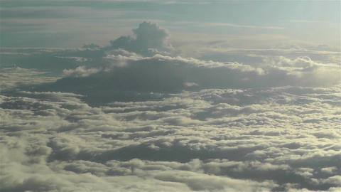 Stratocumulus from Above 7 Stock Video Footage