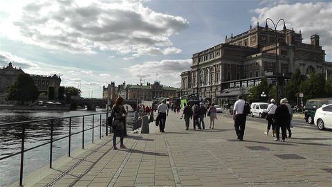 Swedish Opera Stockholm 2 Footage