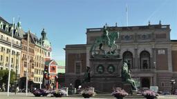 Swedish Opera Stockholm 4 Stock Video Footage