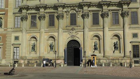 Swedish Royal Palace Stockholm 8 Footage