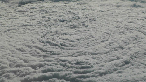 Thunderstorm Clouds from Above 2 Stock Video Footage