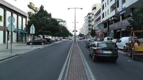 Town near Lisbon Portugal 4 Stock Video Footage