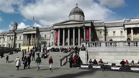 Trafalgar Square London 13 handheld Live Action