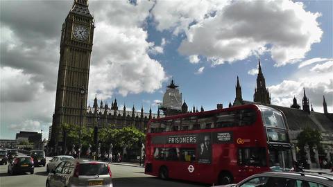 Westminster London British Parliament 5 handheld Footage