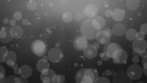 Dark Grey Bokeh Dot Background Stock Video Footage