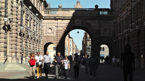 Parliament of Sweden Stockholm 13 Stock Video Footage
