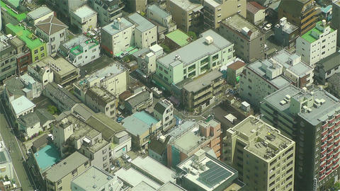 Tokyo Skytree Oshiage Aerial View to Tokyo 38 Stock Video Footage