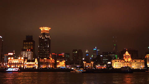 Shanghai Skyline stock footage