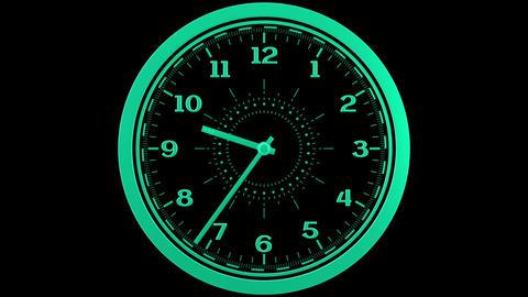 Clock Loop Stock Video Footage