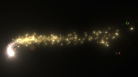 Light streaks and particles C 1a HD Stock Video Footage