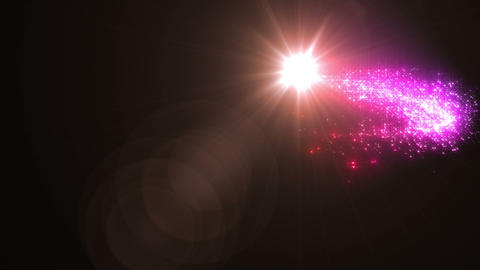 Light streaks and particles Cr 1b 3 HD Animation