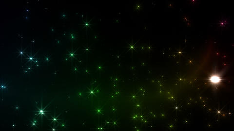 Light streaks and particles Dr 1a 3 HD Stock Video Footage
