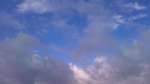 Rain clouds. Time Lapse Stock Video Footage